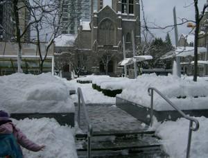 Snowy Van December 2008