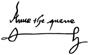Anne Boleyn_Tudor History Org_The Signature of a Queen