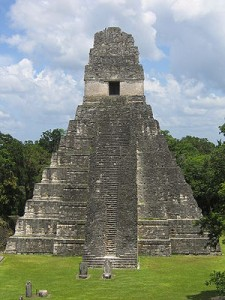 Mayan City Tikal_Wikipedia