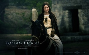 Cate Blanchett as Maid Marian in Robin Hood
