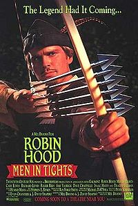 Cary Elwes in Robin Hood Men in Tights 1993