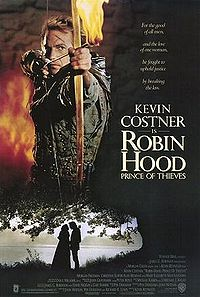 Kevin Costner in Robin Hood Prince of Thieves 1991