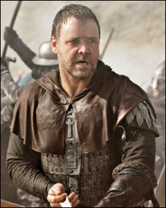 Russell Crowe In the Ridley Scott Film Robin Hood