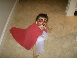 Never fear, Super Youngling is here!