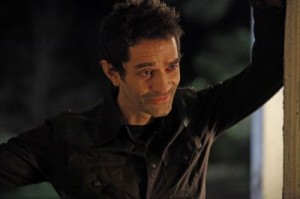The delciously wicked James Frain as Franklin Mott.