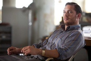 Tom Hardy as Eames in Inception is sitting pretty in Hollywood too!