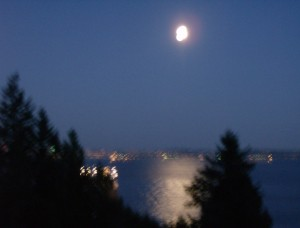 Moonrise Over English Bay_It was A Windy Night_What Can I Say?