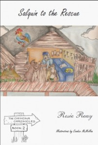 Salquin to the Rescue by Rosie Reay with illustrations by Candice McMullan