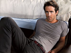 Ryan Reynolds is one sexy super hero.
