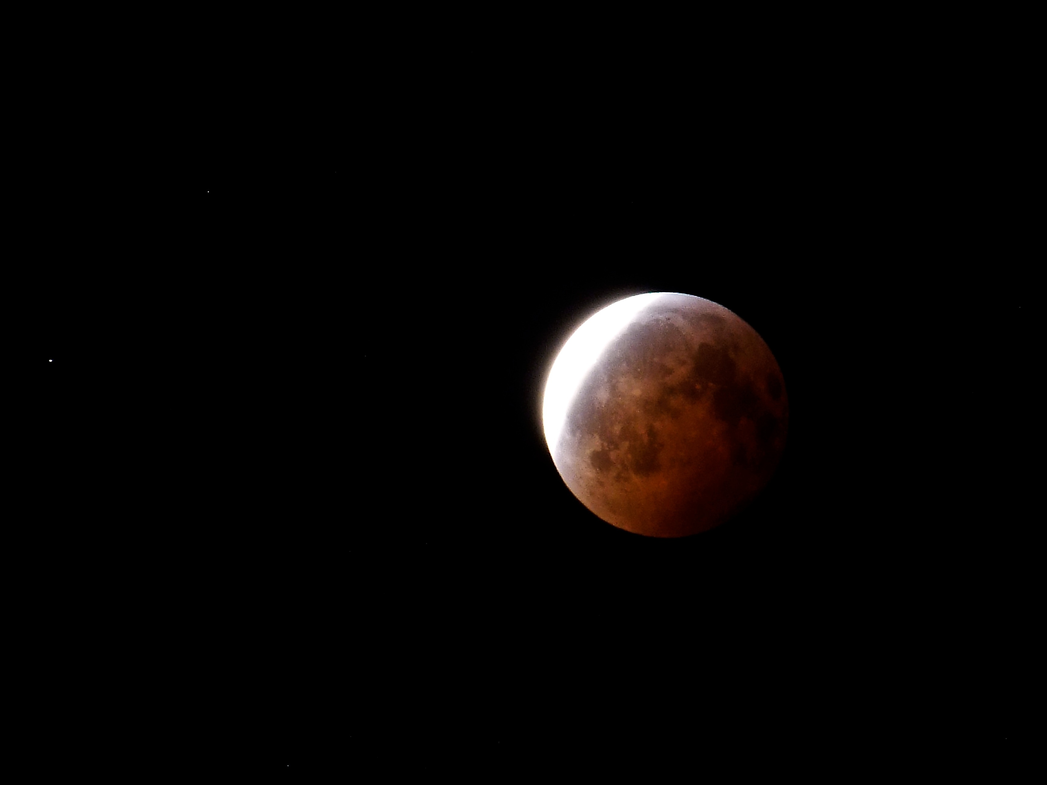 Lunar Eclipse From Terrace