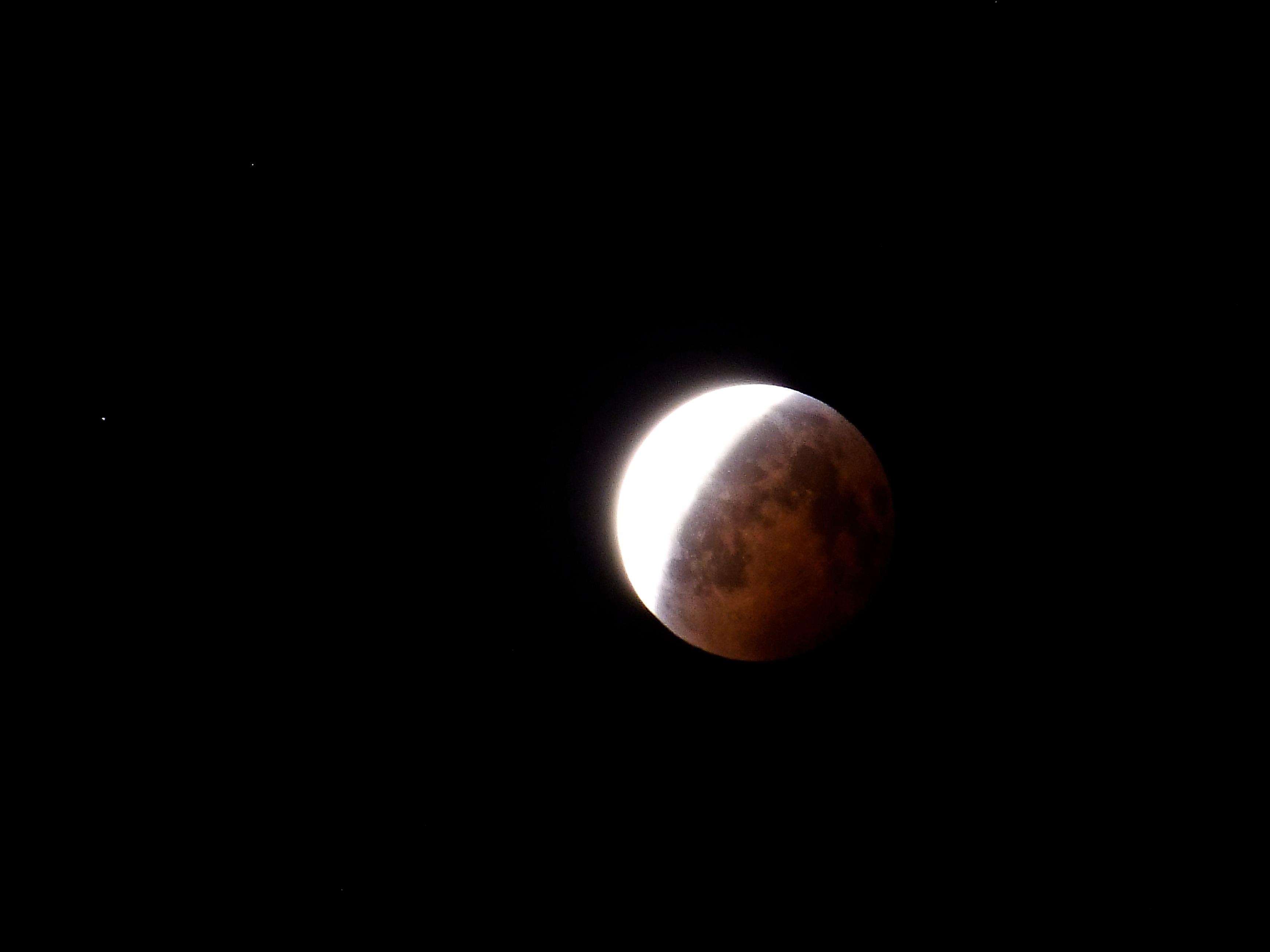 Lunar Eclipse From Terrace December 2010