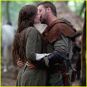 Robin Hood and his Lady love.
