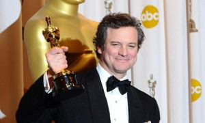 Colin Firth wins Best Actor Oscar for his role in The Kings Speech.