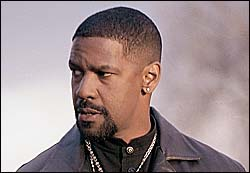 Denzel Washington as a deadly detective in Training Day.