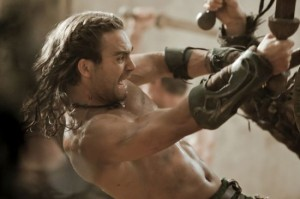 Gannicus_There is a new gladiator in town.