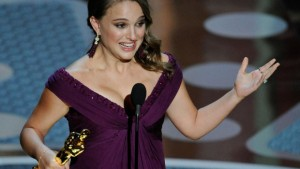Natalie Portman wins Best Actress Oscar for her performance in Black Swan.