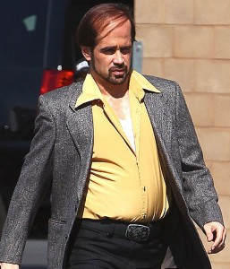 Colin Farrell has let himself go for Horrible Losses.
