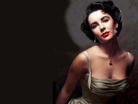 Film legend Elizabeth Taylor.