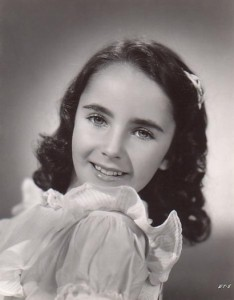 Elizabeth Taylor appeared in her first film at age 9.
