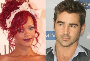 Rihanna and Colin Farrell dating?