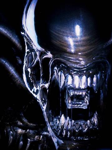 The scariest alien I've ever seen!