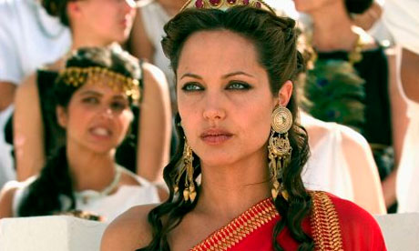Angelina Jolie is an amazing actress, no doubt, but is she really the perfect Cleopatra?