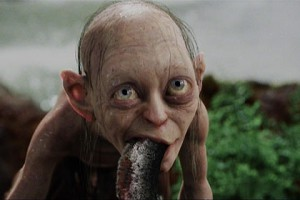 Gollum has two sides.