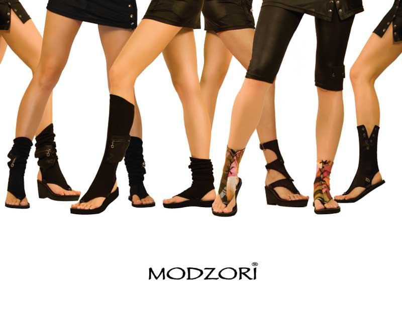Hot designer sandals by Modzori may make movie magic yet.