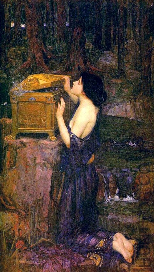Pandora by John William Waterhouse 1896