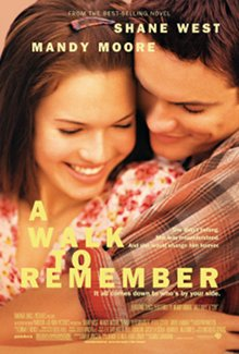 A Walk to Remember is another sweet and beautiful romance by Nicholas Sparks.