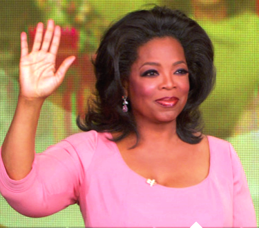 Oprah says farewell.