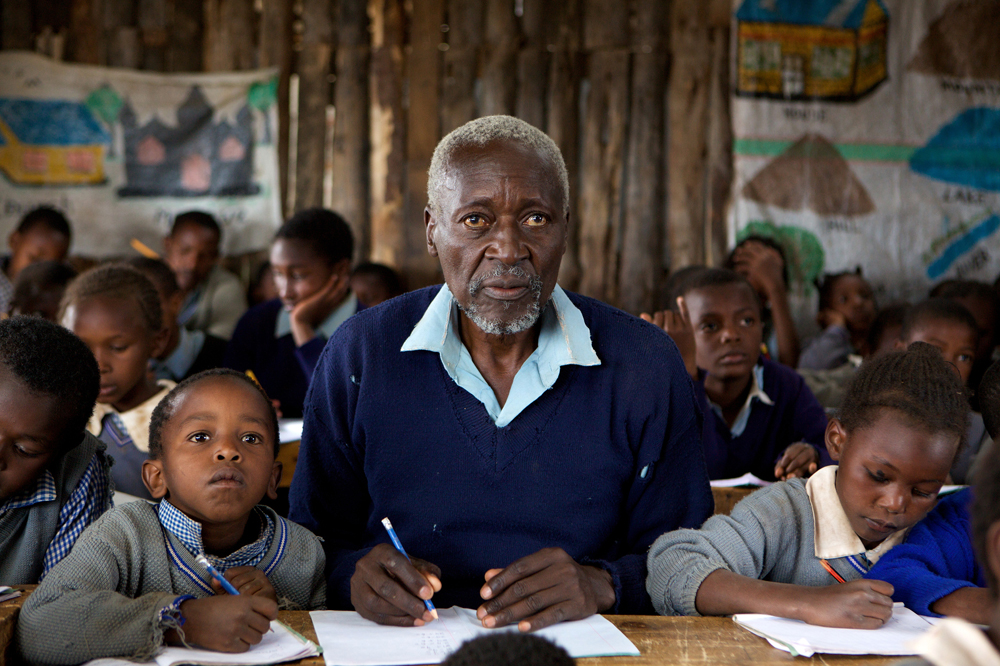 The First Grader (2010)  Oliver Litondo as Kimani N gan ga Maruge