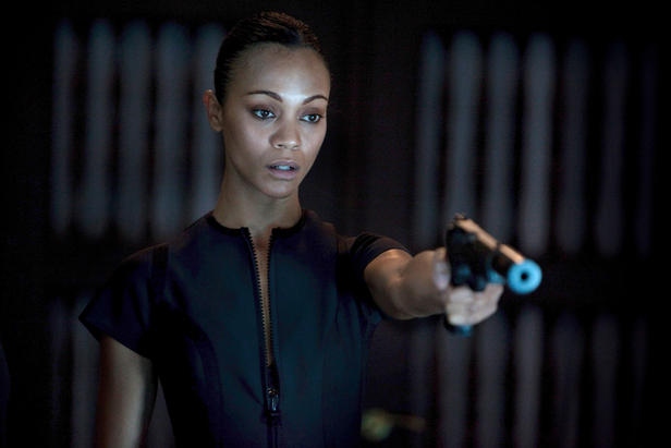 Zoe Saldana is a lethal assassin in Colombiana.
